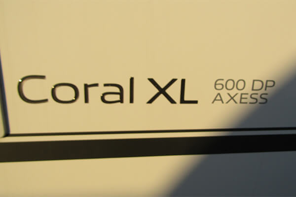 ADRIA CORAL XL AXESS 600 DP 2020
