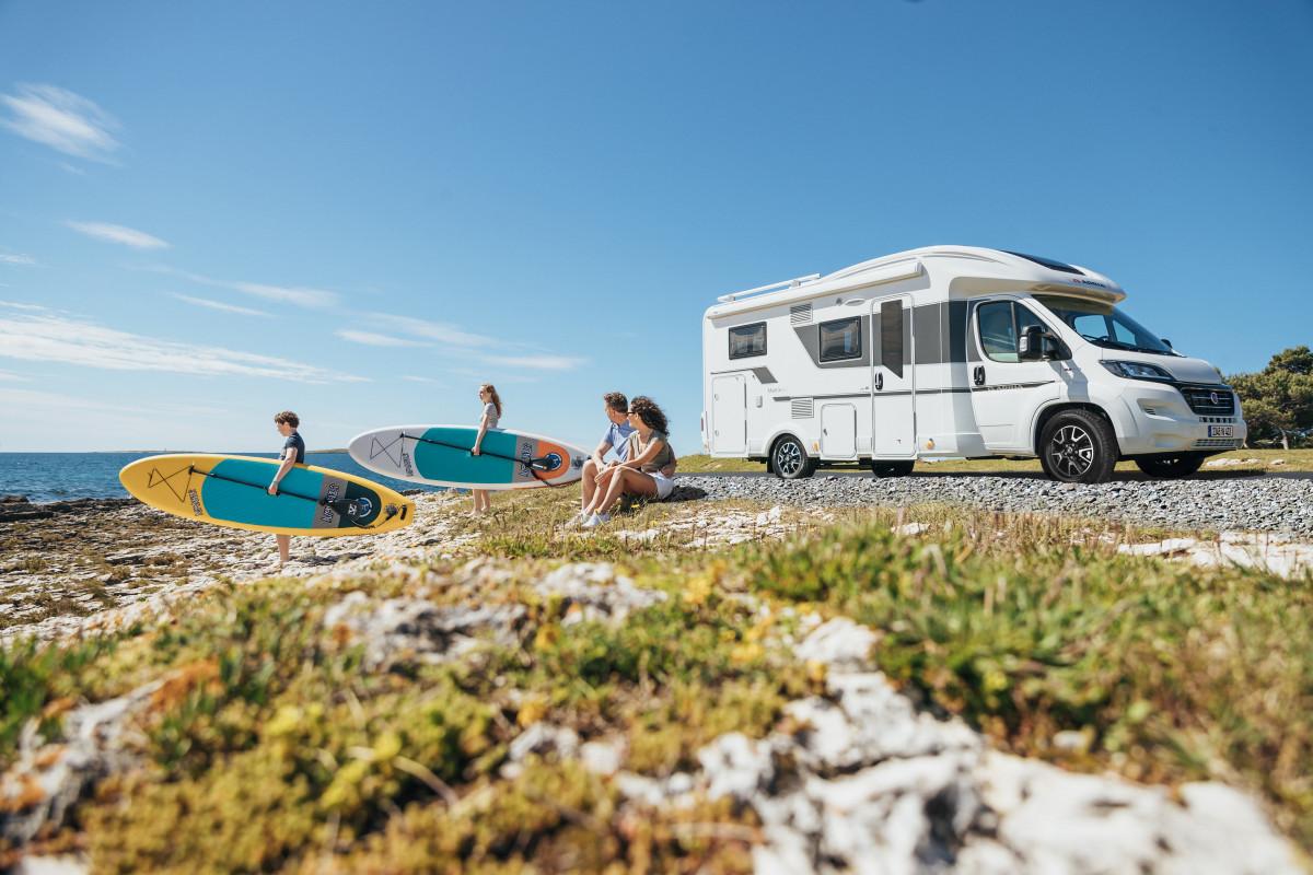 viajar en verano en camper